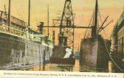 Facilities For Coaling Ocean Going Steamers