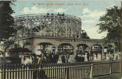 The Roller Boller Coaster Postcard