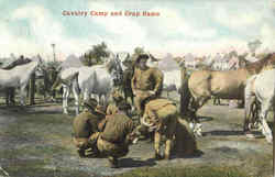 Cavalry Camp And Crap Game
