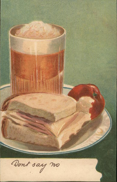 Lunch on a Plate Still Life