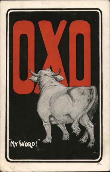 My Word! OXO Advertising Cows & Cattle