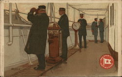Red Star Line - Men on Ship
