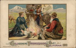 Goldseekers - Thanksgiving Day, California, 1849