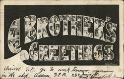 A Brother's Greetings