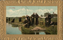 Thursday, Monks Fishing
