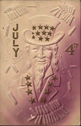 Uncle Sam on the Fourth of July