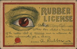 Rubber License