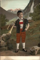 Child with Horn