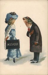 Two Finely Dressed Fish