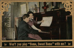 "Won't You Play ""Home Sweet Home"" With Me?"