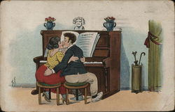 Couple At The Piano