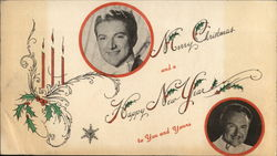 Merry Christmas & a Happy New Year from Liberace and George Liberace