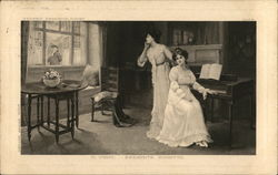 Two Women in Parlor