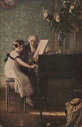 The Harpsichord Lesson