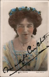 Miss Madge Crichton, Hand Signed