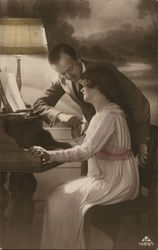 Man and Woman at the Piano