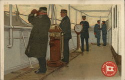 Sailors on the Deck of a Ship, Red Star Line