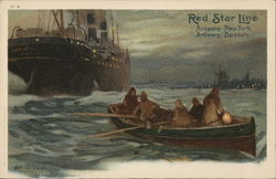 Red Star Line Steamer