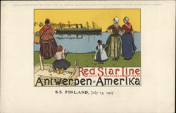 Red Star Line - Antwerp to America