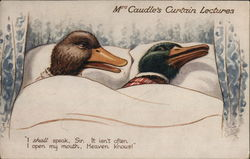 Mrs. Caudle's Curtain Lectures - Ducks in Bed