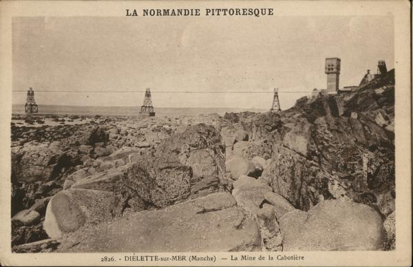 La Mine de la Cabotiere - La Normandie Pittoresque
