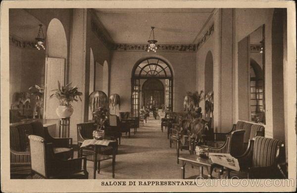 Salone di Rappresentanza, Grand Hotel et Agrigentum