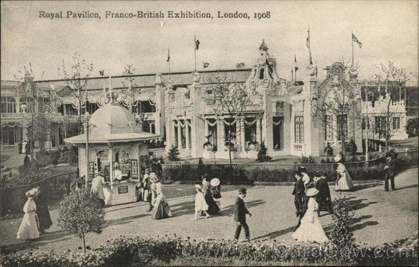 Royal Pavillion, Franco-British Exhibition, 1908 London United Kingdom