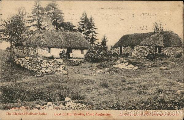 Last of the Crofts, Fort Augustus Invergarry Scotland