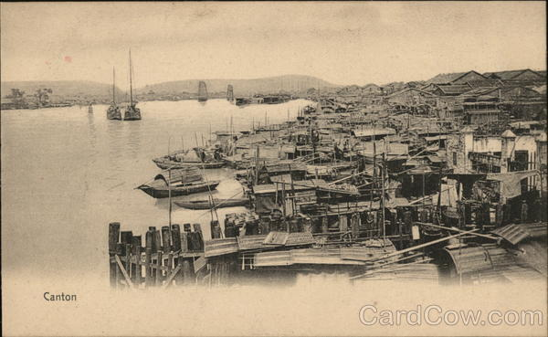 Canton Harbour China