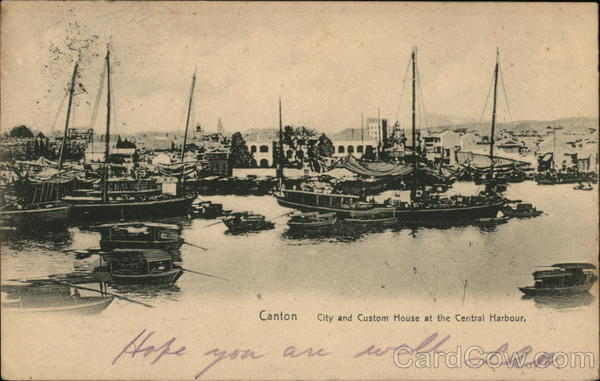 City and Custom House at the Central Harbour