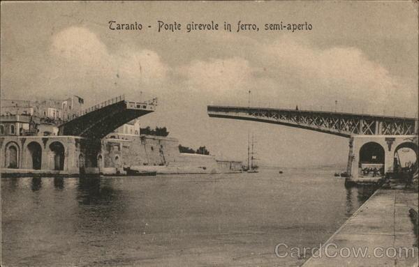 Ponte Giravole in Ferro, Semi-Aperto