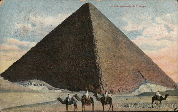 Grand Pyramid of Cheops Egypt Africa