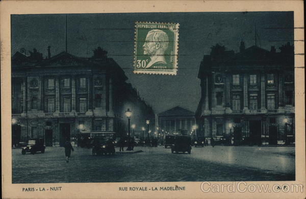 Rue Royale - La Madeleine