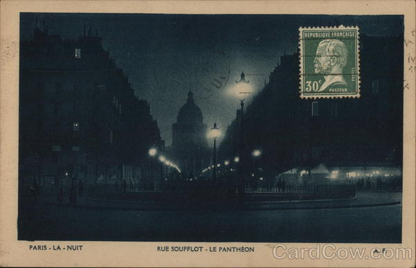Paris at Night France Cancelled on Front (COF)