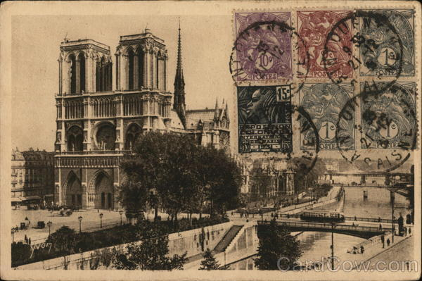 General View of Notre Dame Cathedral