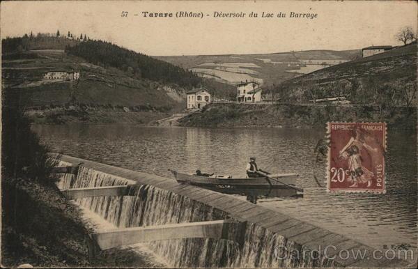 Spillway of the Reservoir
