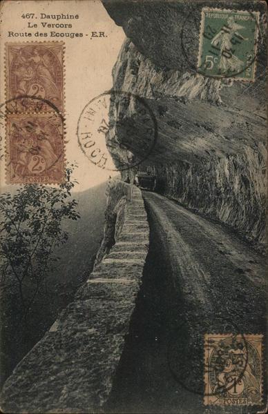 Le Vercors - Route des Ecouges
