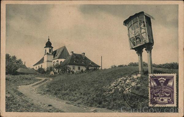 St. Anna Church Eger Czechoslovakia Eastern Europe