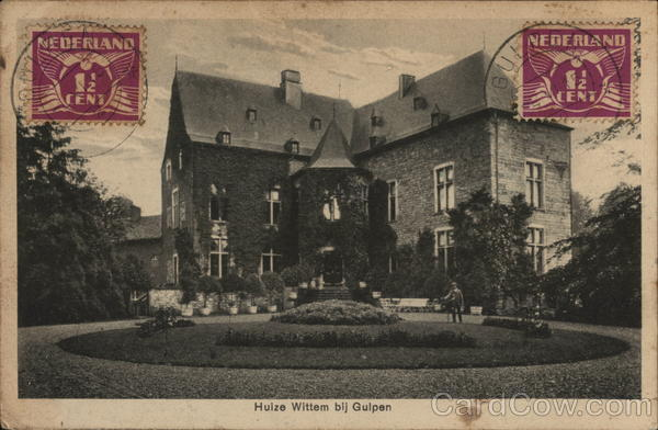 Castle Wittem Netherlands Benelux Countries Cancelled on Front (COF)