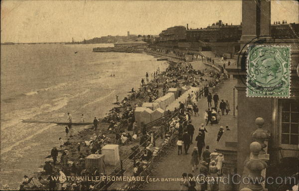 Westonville Promenade (Bathing Beach) Margate Great Britain