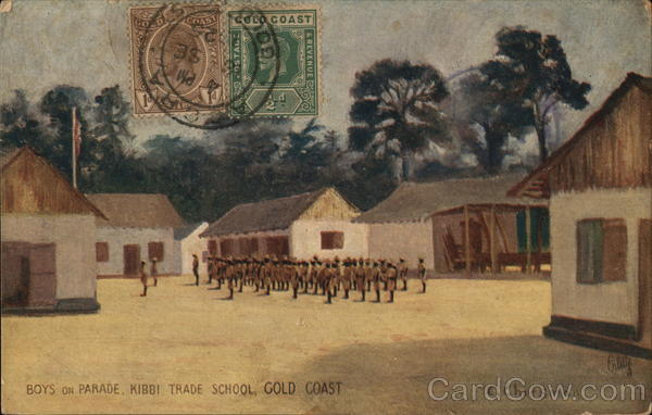 Boys on Parade, Kibbi Trade School, Gold Coast Ghana