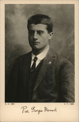 Pier Giorgio Frassati - Born: April 6, 1901 Died: July 4, 1925
