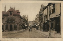 High Street Andover Postcard