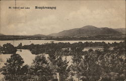 Mt. Oxford and Lake Memphremagog