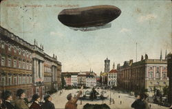 Schlossplatz - Military Airship