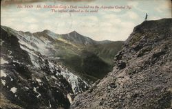 Mt. McClellan Gray's Peak Reached via the Argentine Central Ry.