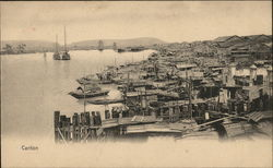Canton Harbour Postcard