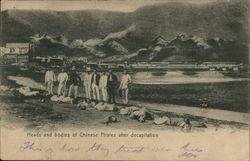 Heads and Bodies of Chinese After Decapitation