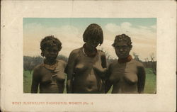 West Australian Aboriginal Women, Nude