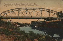 Bridge across the Sagua River